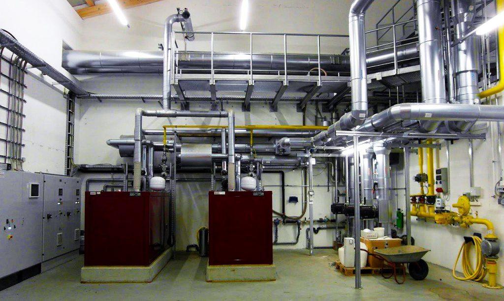 Blockkraftheizwerk 2 x 112 kW