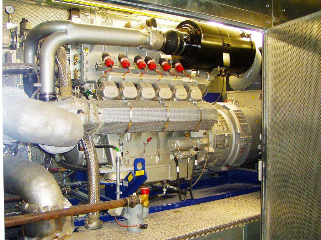 Panoramatherme Beuren Blockkraftheizwerk 420 kW elektrische Leistung